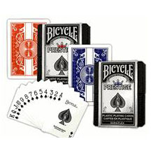 Bicycle Prestige Marqué cartes